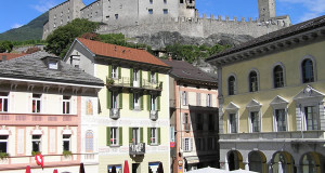 Bellinzona, Tesino, Suiza. Autor y Copyright Marco Ramerini..