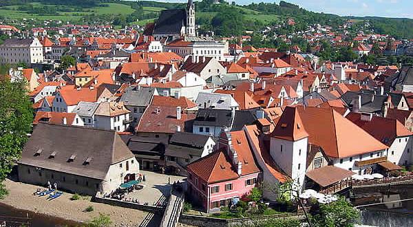 Český Krumlov, República Checa. Autor Rubel. Licenza Creative Commons Attribuzione-Condividi allo stesso modo